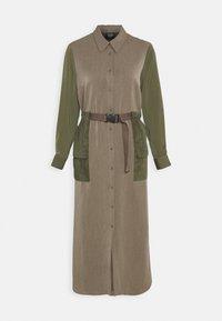 Another-Label - DAWN DRESS - Shirt dress - winter moss melee - 4