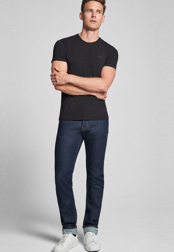 JOOP! 2 PACK - T-shirt basic - black/czarny Odzież Męska UEWZ