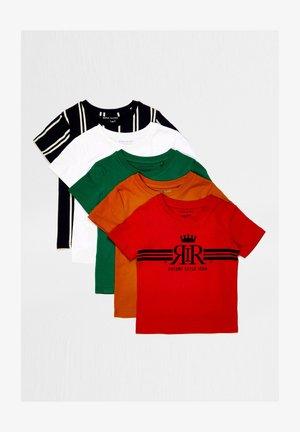 5 PACK - Print T-shirt - yellow