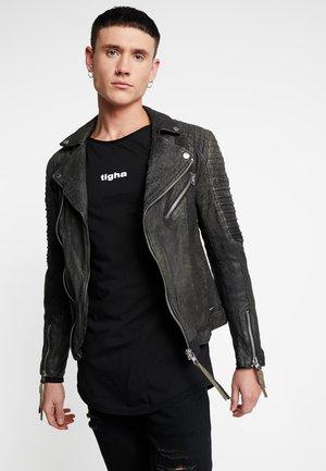 BALICK - Leather jacket - vintage black