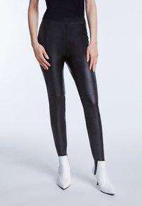SET - Leggings - Trousers - black - 0