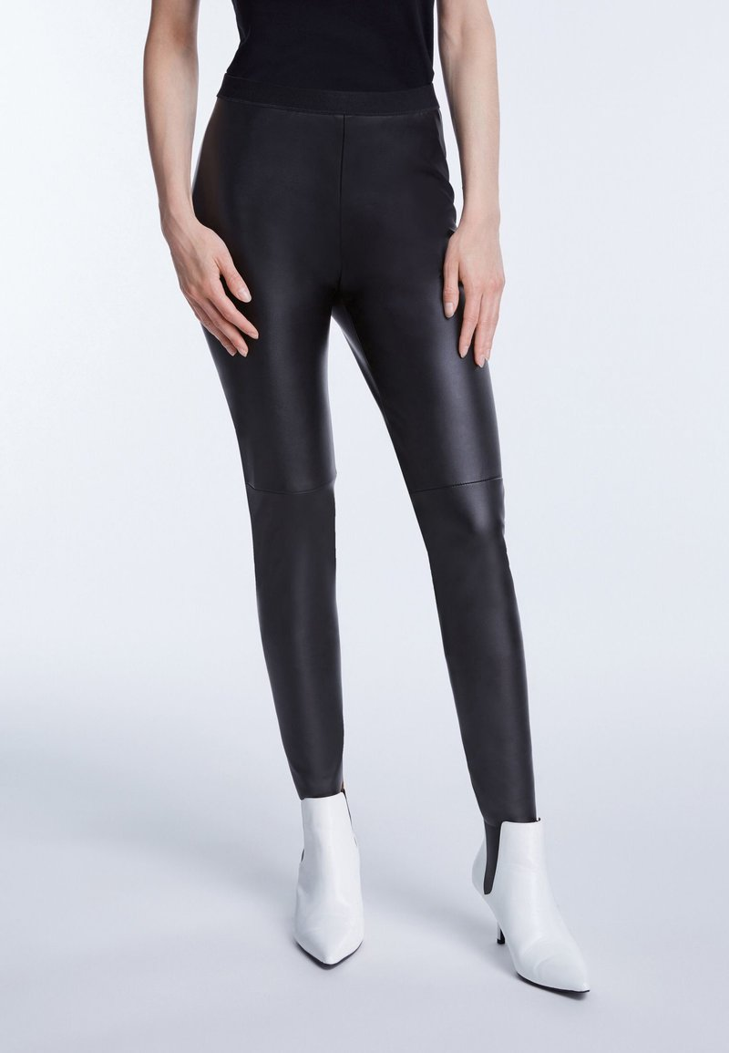 SET - Leggings - Trousers - black