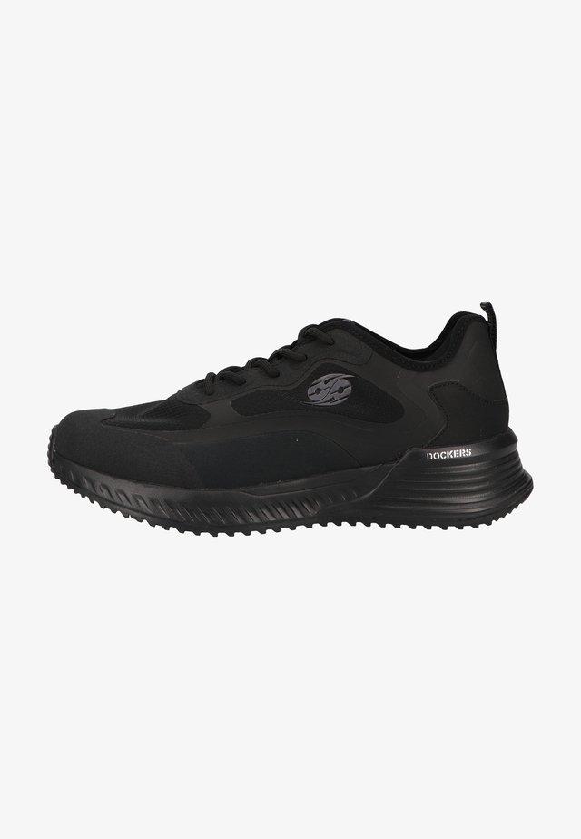 Sneakers laag - allblack