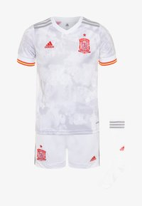 adidas Performance - FEF SPANIEN A YOUTH - Sports shorts - white/light onix - 0
