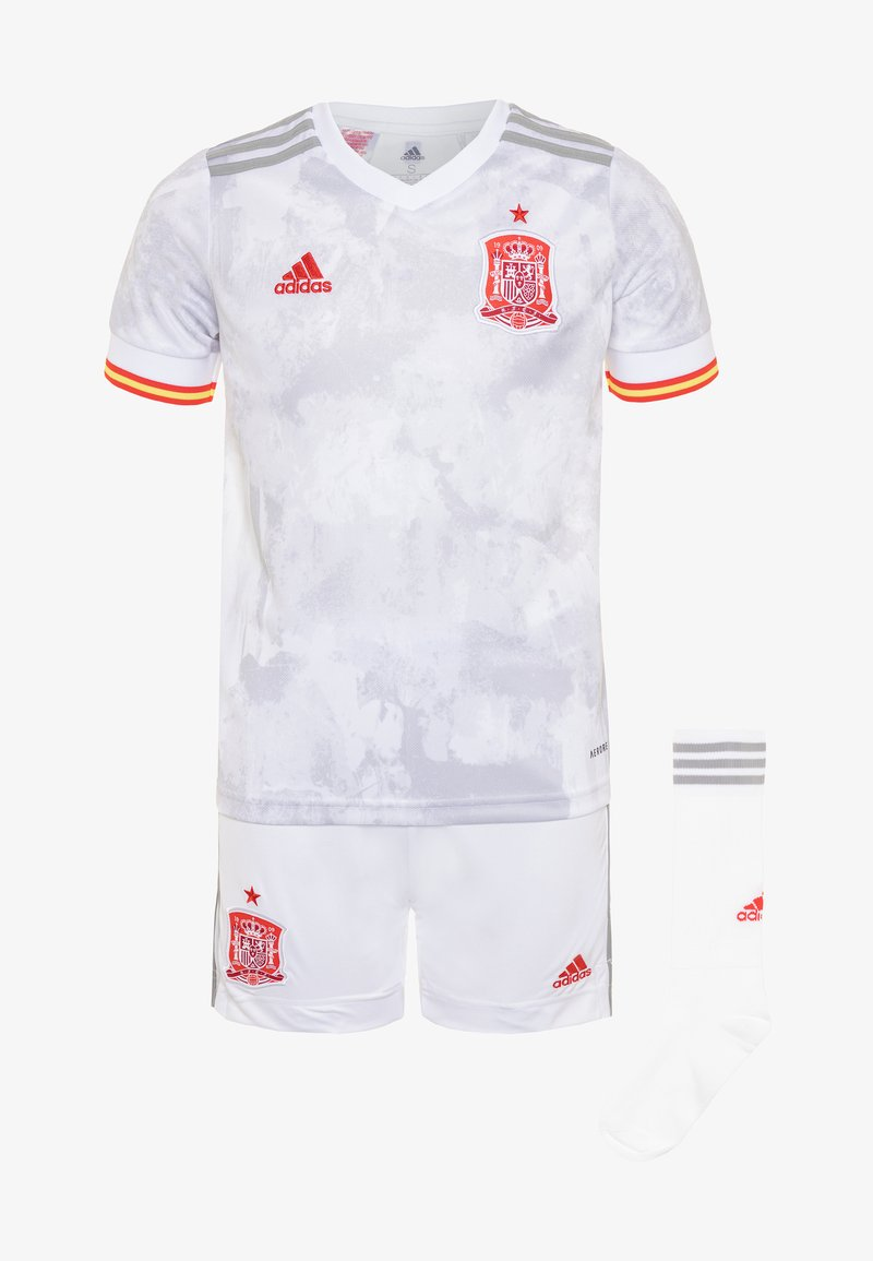 adidas Performance - FEF SPANIEN A YOUTH - Sports shorts - white/light onix