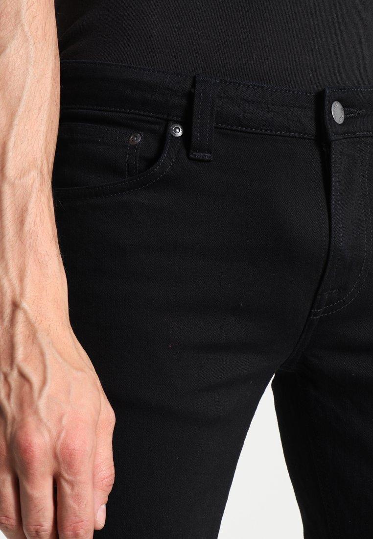 Nudie Jeans LIN - Jeans Skinny Fit - black denim pjnPXi