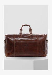 SID & VAIN - BRISTOL - Weekend bag - braun/cognac - 1