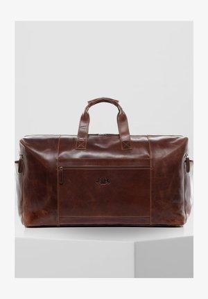 BRISTOL - Weekend bag - braun/cognac