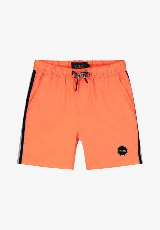 TOM TAPE  - Short de bain - neon orange
