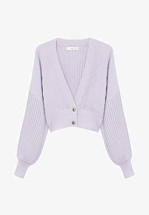 KATYA - Cardigan - purple