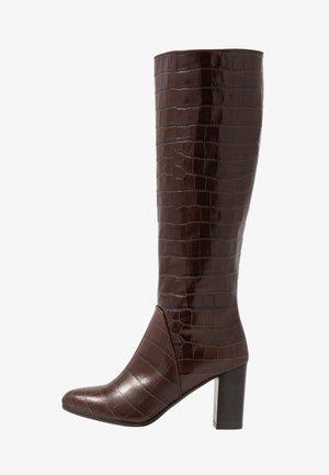 GABIA - Boots - testa di moro