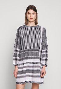 CECILIE copenhagen - DRESS - Denní šaty - black/stone - 0
