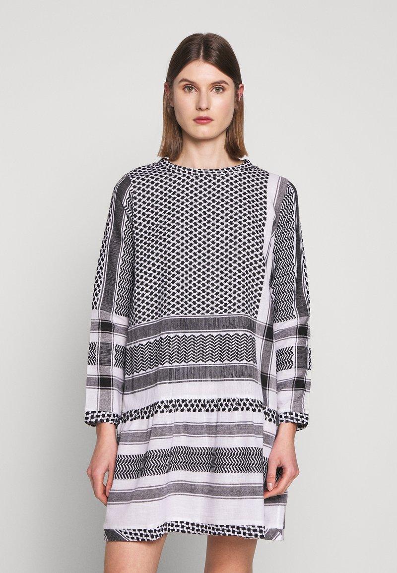 CECILIE copenhagen - DRESS - Denní šaty - black/stone