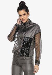 Cipo & Baxx - Training jacket - smoked - 5