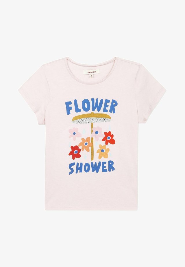 EMBROIDERY - T-shirts print - light pink