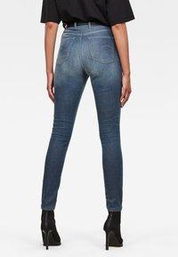 G-Star - KAFEY ULTRA HIGH SKINNY  - Jeans Skinny Fit - worn in gravel blue - 1