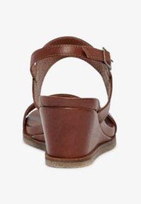 Bianco - Wedge sandals - cognac - 4
