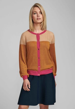 Cardigan - buckthorn brown