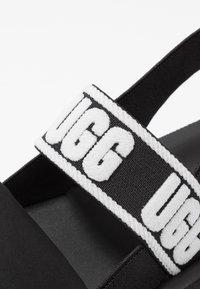 UGG - ZUMA SLING - Sandals - black - 2