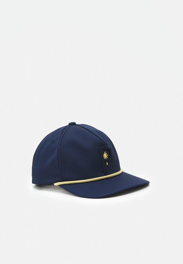 PALM TREE CREW ROPE SNAPBACK - Cap - navy blazer