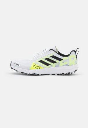 TERREX SPEED FLOW - Trail running shoes - white