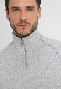 Farah - JIM ZIP - Sweatshirts - light grey - 4