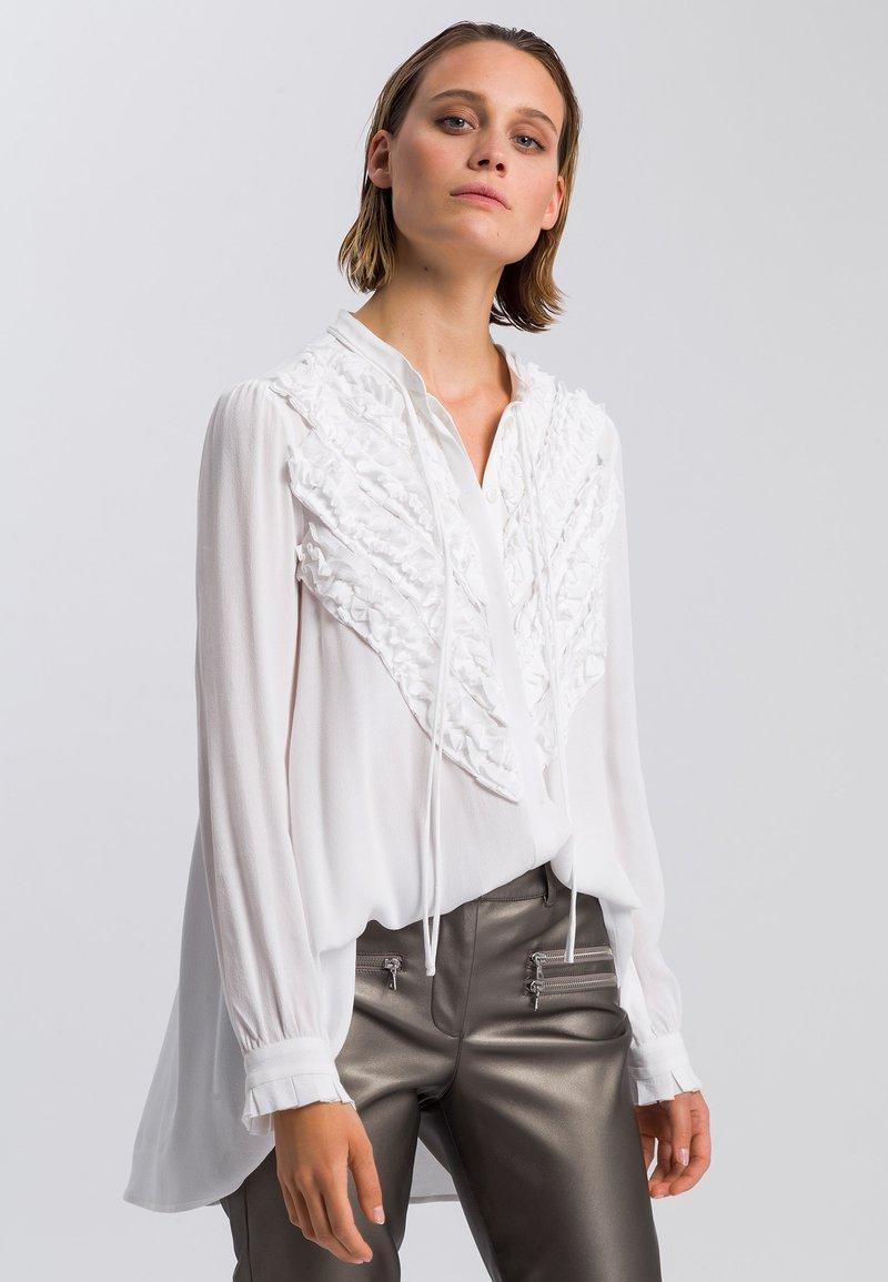 Marc Aurel - Button-down blouse - off white