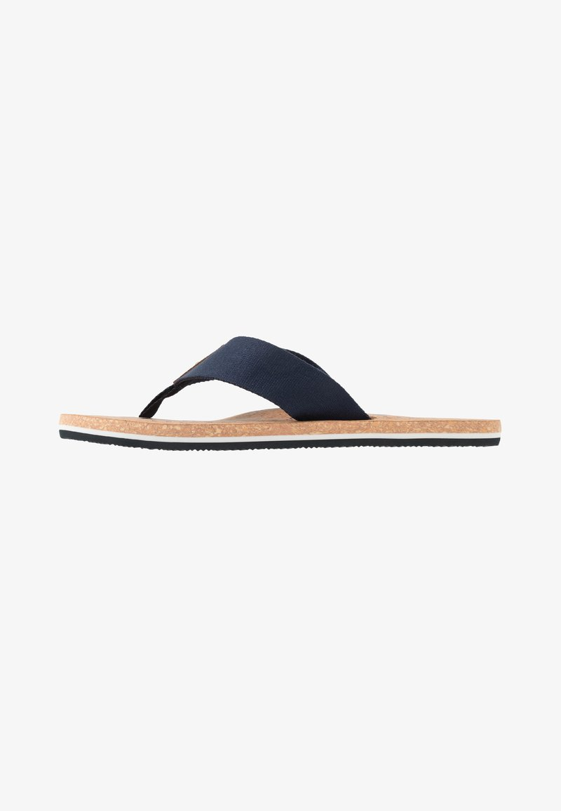 Tommy Hilfiger - SIGNATURE BEACH - T-bar sandals - blue