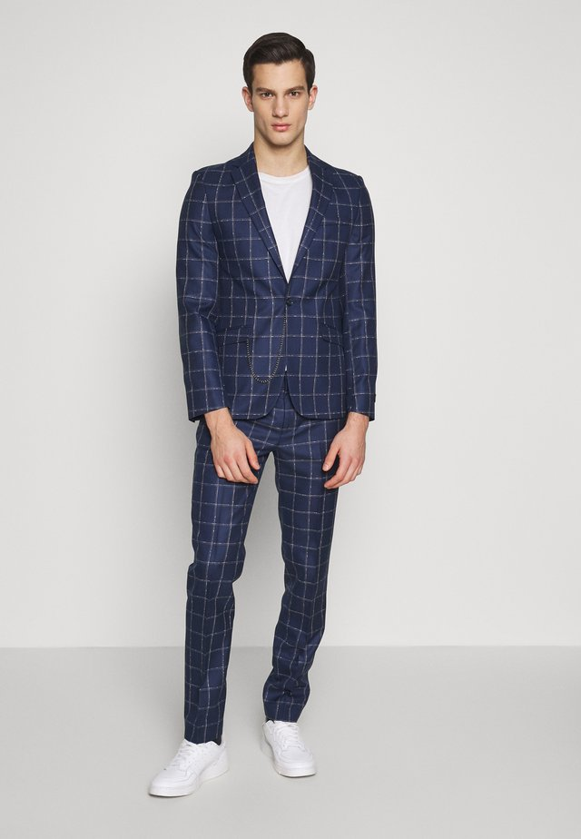 BARNSTAPLE SUIT - Costume - navy