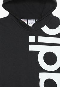 adidas Performance - LOGO - Hoodie - black/white - 4