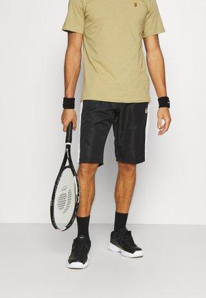 ANSLEY BERMUDA - Pantaloncini sportivi - anthracite/blanc de blanc