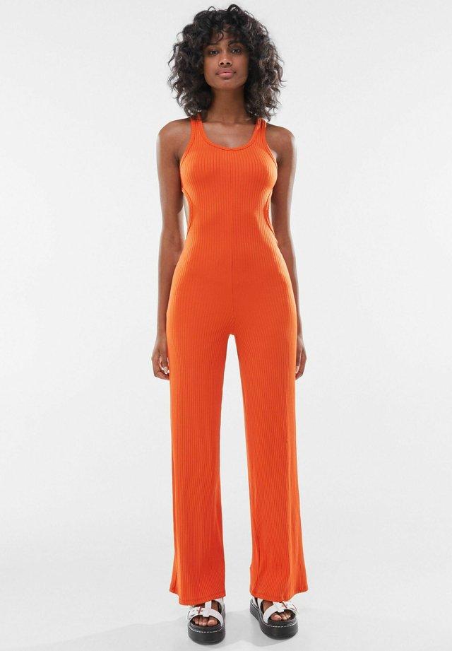 Tuta jumpsuit - orange