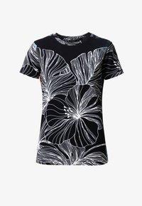 Desigual - T-shirt imprimé - black - 4