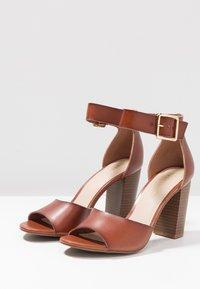 Madden Girl - HARPER - High heeled sandals - cognac paris - 4