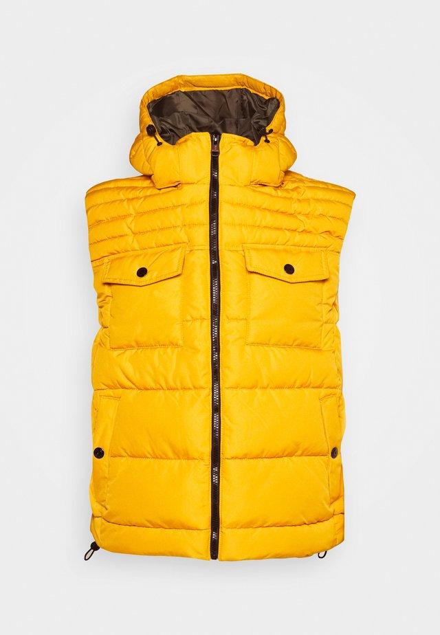 ÄRMELLOS - Waistcoat - yellow