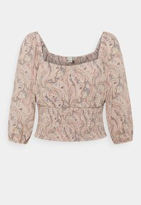 American Eagle - RUCHED FRONT - Bluser - multicoloured - 0