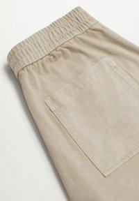Mango - Trousers - hellgrau/pastellgrau - 7