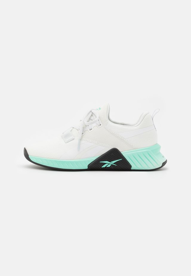 FLASHFILM TRAIN 2.0 - Scarpe da fitness - pure grey/footwear white/pixel mint