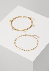 PCMAISE ANKLE CHAIN 2 PACK - Jiné doplňky - gold-coloured