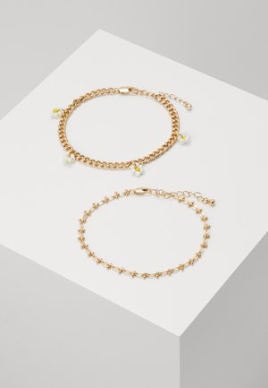 PCMAISE ANKLE CHAIN 2 PACK - Other - gold-coloured