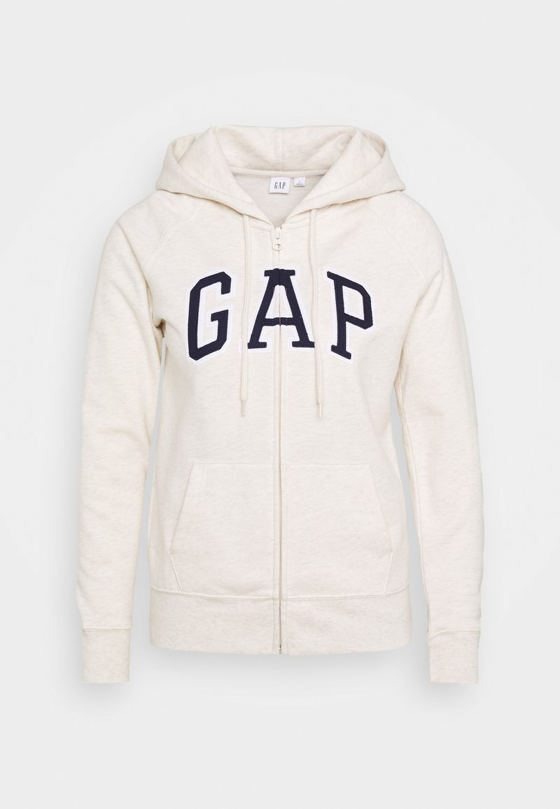 GAP - FASH - Zip-up hoodie - oatmeal heather