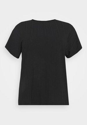 ECARRIE TEE - Basic T-shirt - black