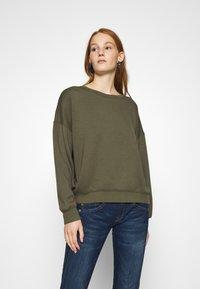 Moss Copenhagen - IMA - Sweatshirt - grape leaf - 0