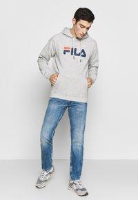 Fila - PURE HOODY - Hoodie - light grey melange - 1