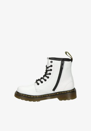 Lace-up ankle boots - wit