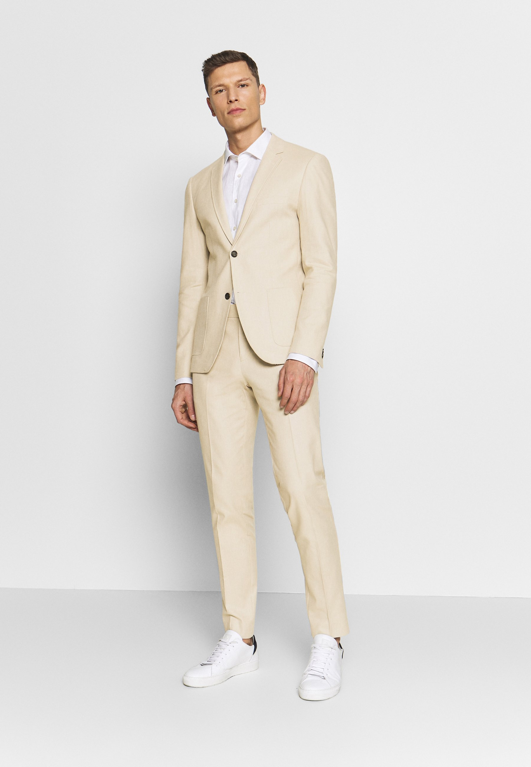 Klassinen Miesten vaatteet Sarja dfKJIUp97454sfGHYHD Lindbergh Puku sand mix