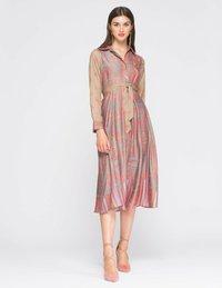 NIZA - Shirt dress - melocoton - 1