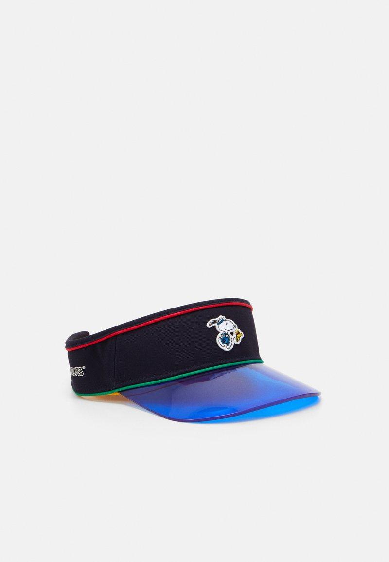 Levi's® - SNOOPY SPORT VISOR UNISEX - Pet - navy blue