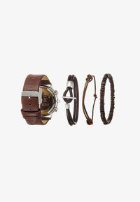 Pier One - SET - Watch - cognac - 2