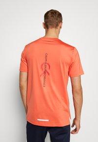 Calvin Klein Performance - SHORT SLEEVE - T-shirts print - red - 2